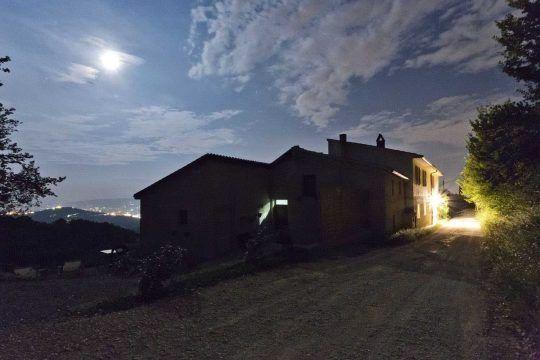 A starry night near our home: Alla Madonna del Piatto Assisi B&B, Vacation rental