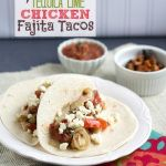 http://fungala4u.com/grilled-tequi%c2%adla-lime-chick%c2%aden-faji%c2%adta-tacos/ Grilled Tequila Lime Chicken Fajita Tacos Recipe Make a best meal that your family and friends will love: Grilled Tequila Lime Chicken Fajita Tacos! It's easy to make and it's delicious! Prep Time: 45 minutes Cook Time: 30 minutes Total Time: 1 hour, 15 minutes servings : 6 person Ingredients 4 boneless, skinless chicke