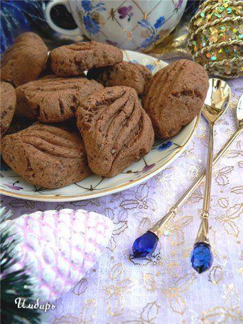 Шоколадное печенье «Ромбики с корицей» : Простые рецепты для вкусной жизни