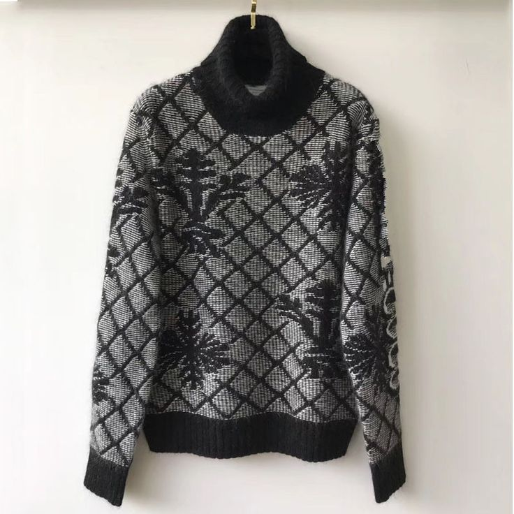 womens knitted sweaters winter turtleneck sweater for women 2017 ladies plaid sweaters