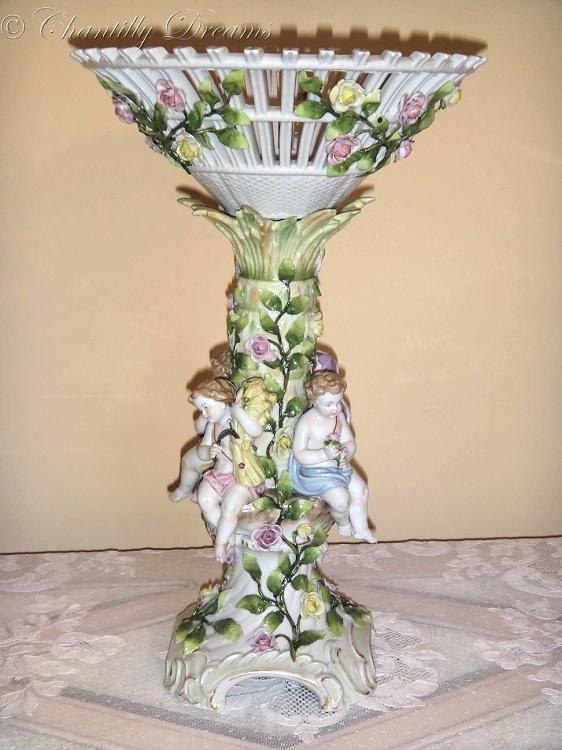 Divine Antique Von Schierholz Reticulated German Porcelain