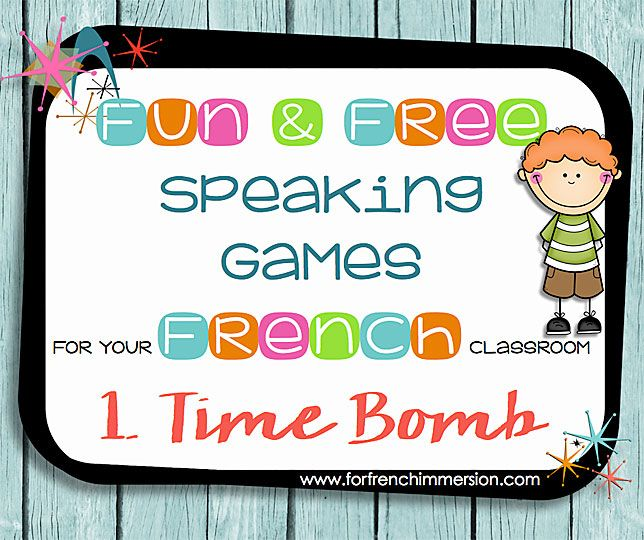 Speaking a new language is hard, but games can make it easier. Check out this first game in the series of fun speaking games for your French classroom!