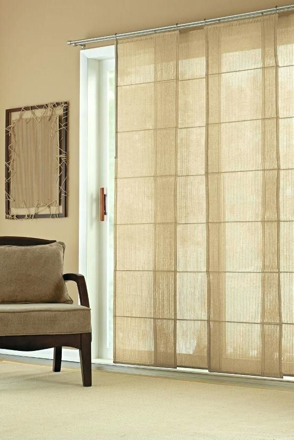 Sliding Door Curtains Teawingco, What Size Curtains For Sliding Glass Doors
