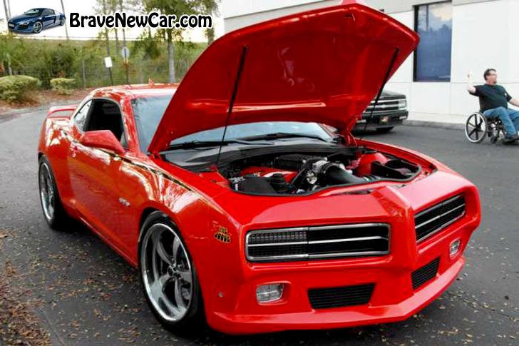 "2014 Pontiac GTO ""6T9 Goat"" The Judge Concept"