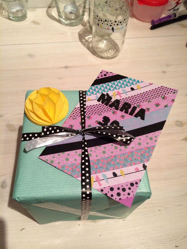 Födelsedagskort o Paket