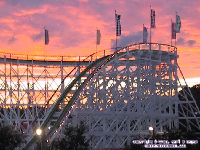 Swamp Fox Family Kingdom Myrtle Beach SC The first roller