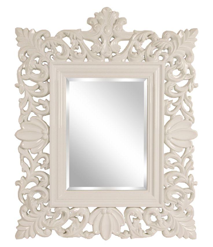 QUEEN-peili valkoinen