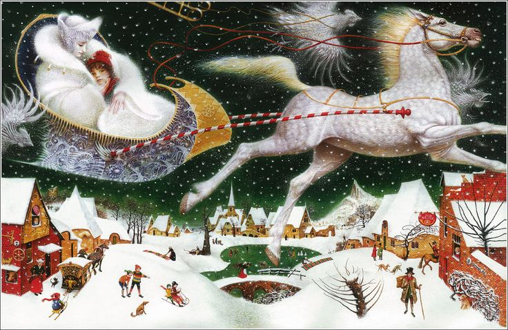 Snow queen. V. Erko  I like detalized pictures  http://www.igrateney.ru/gallery2/main.php?g2_itemId=10972 - gallery