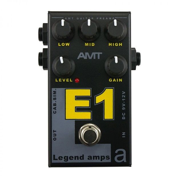 Amt Electronics Legend Amp Series Ii E1 Distortion Reverb Guitar Pedals Guitar Acoustic Electric