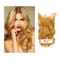 """Wish   20"""" Wavy Stretch Flip In Women Hair Extension Secret Miracle Hair Halo Highlight Hair Extensions"""