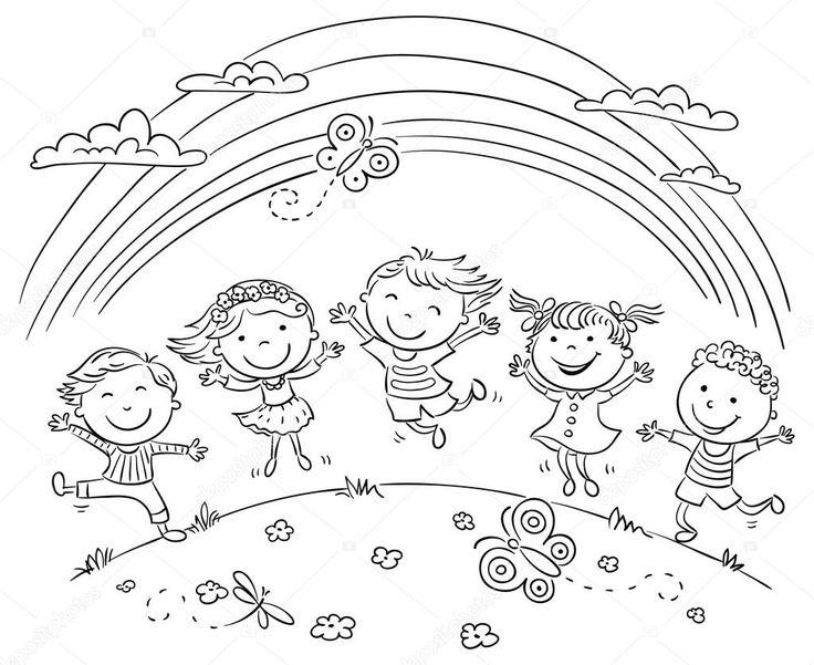 Risultati immagini per immagini bambini felici bianco e nero