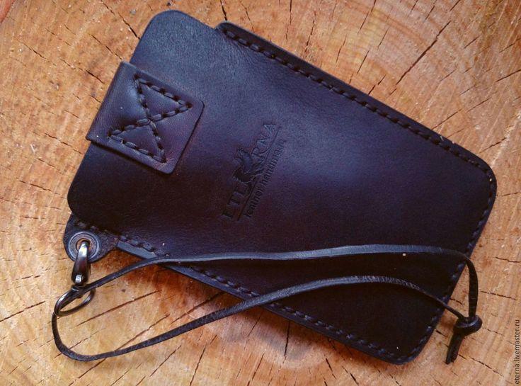 Купить Формованный чехол для телефона - черный, чехол для телефона, чехол кожаный, чехол для мобильного