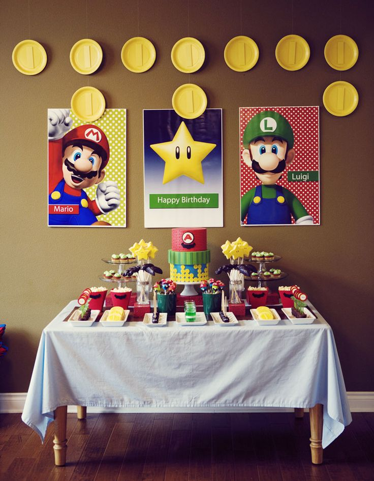 17 Best images about \u0027 Super Mario Brothers bday on Pinterest