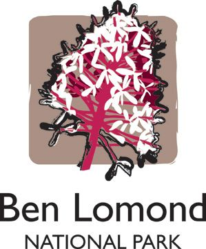 Ben Lomond National Park, Tasmania, Australia. Logo.