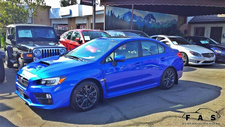 Came into work today and noticed this one has moved...The question is: How was that joy ride?!? #whohadthekeyslast #usedcars #glendale #leasing #subaru #wrx #premium #awd #allwheeldrive
