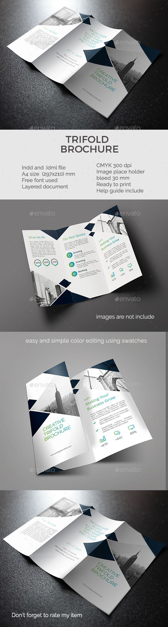 Best Brochure Images On Pinterest Brochure Template Flyer - Easy brochure template