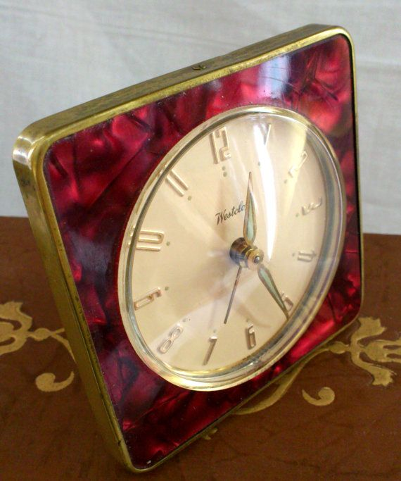 12 Best Vintage Westclox Images On Pinterest Alarm Clock