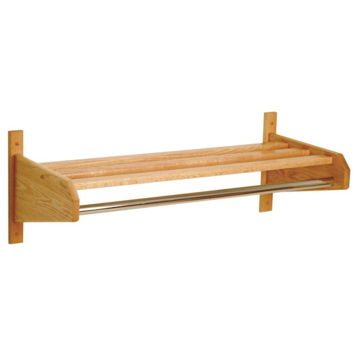 Have to have it. 32-Inch Single Wooden Wall Coat & Hat Rack - $43.69 @hayneedle