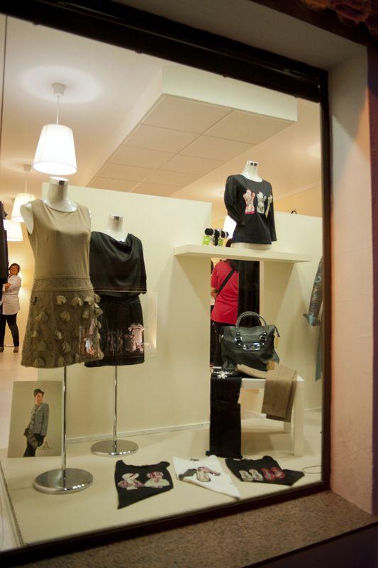 Escaparate boutique Luisa Bejar, Montoro  (Córdoba).