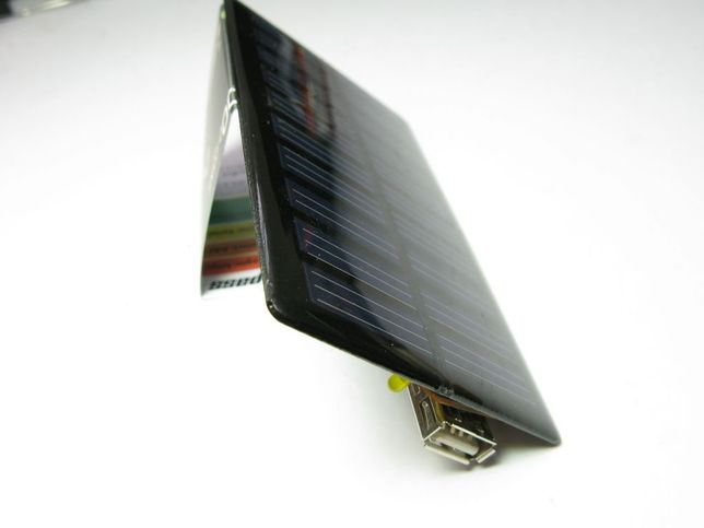 Make a portable solar cell phone charge for only $5!