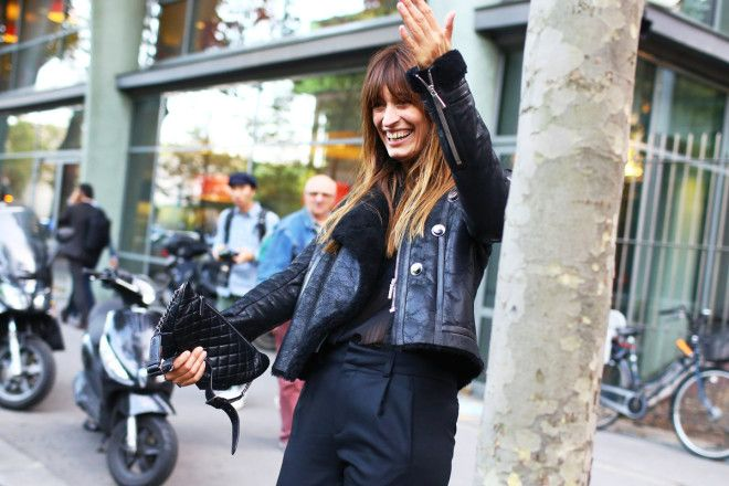 Honey Brown Hair Goes Ombré: The Trend Makes Its Way to the Street – Vogue - Caroline de Maigret