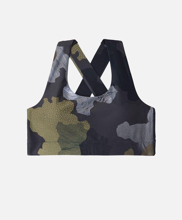 Soutien-gorge sport camouflage - Voir Tout - Soutiens-Gorge Sport - SPORT | Automne Hiver 2016 - Oysho France
