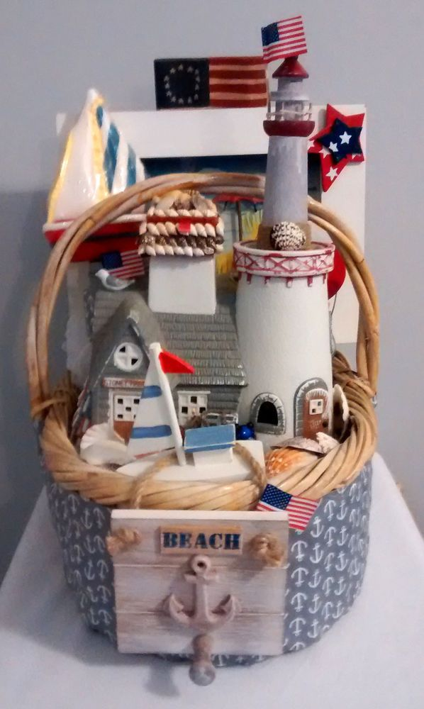 25 unique beach gift baskets ideas on pinterest beach basket 65 ebay my heart is at the beach gift basket decor handmade anyoccasion negle Image collections