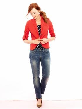 blazer: The Gap, Red Blazers, Dreams Closet, Jeans Style, Summer 12, Women Gap Outfits, Red Jackets, Work Outfits, Clothing Styles
