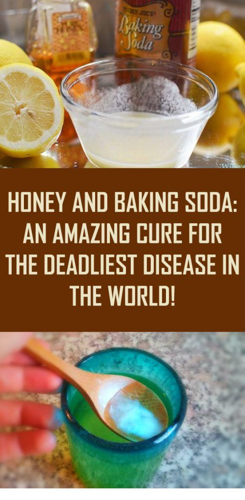 Honey and Baking Soda: An Amazing Cure For The Deadliest