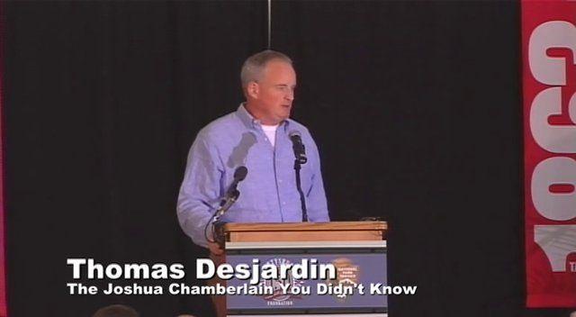Thomas Desjardin on Vimeo - Joshua Chamberlain