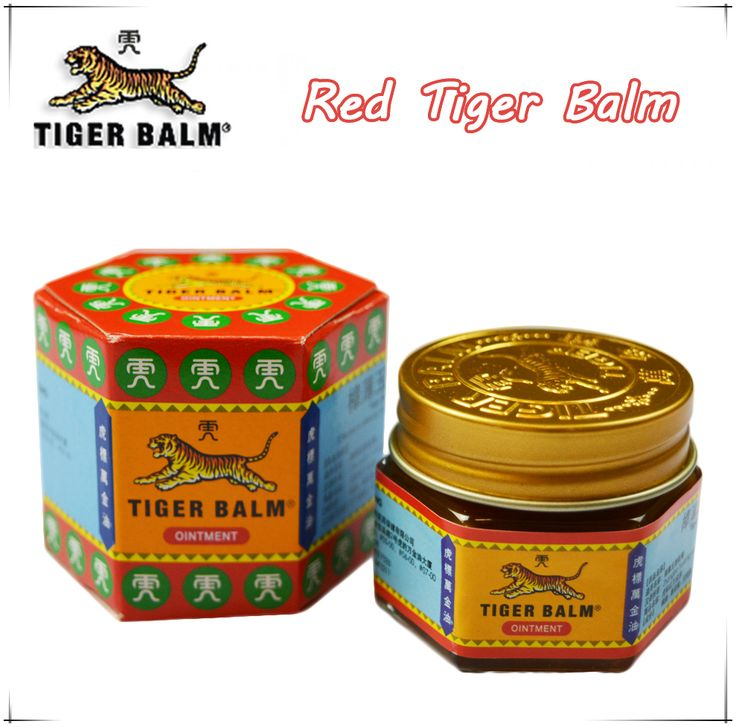 19.4g Tiger Balm Red Ointment Essential Balm Insect Bite Extra Strength Pain Relief Arthritis Joint Pain Massage For Pain