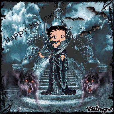 halloween betty boop | Betty Boop Halloween Picture #126400620 | Blingee.com