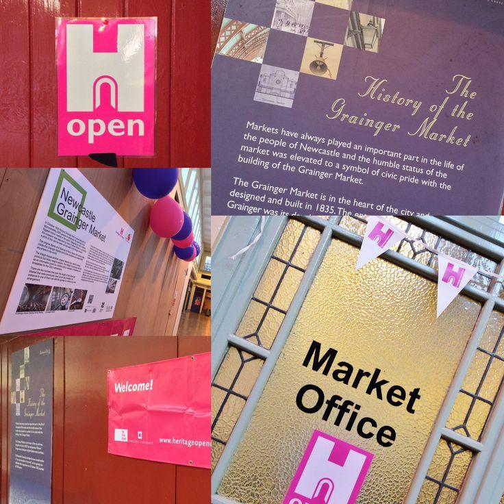 Heritage Open Days 2015 inside the Grainger Market