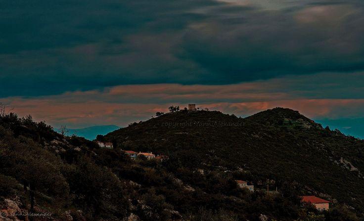 Beautiful scene from Tyros Arkadias in Peloponnese Greece.