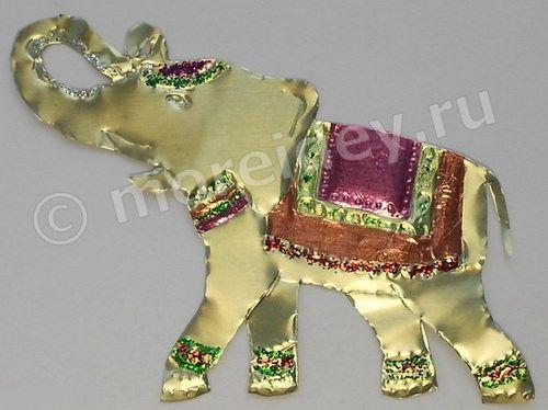 Слон из фольги