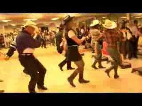 Learn to country line dance dvds