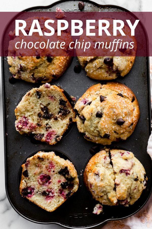 Jumbo Raspberry Chocolate Chip Muffins In 2020 Raspberry Chocolate Chip Raspberry Recipes Raspberry Chocolate Chip Muffins