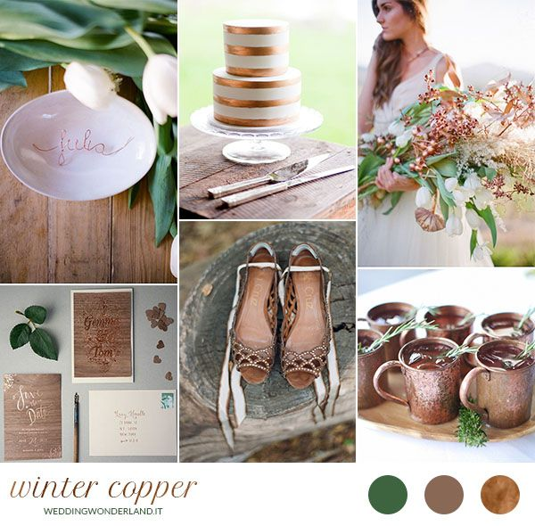 Rame per un matrimonio invernale | Wedding Wonderland