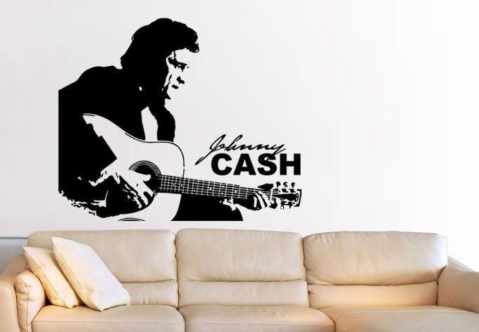 Wandtattoo Jonny Cash von wall-art.de