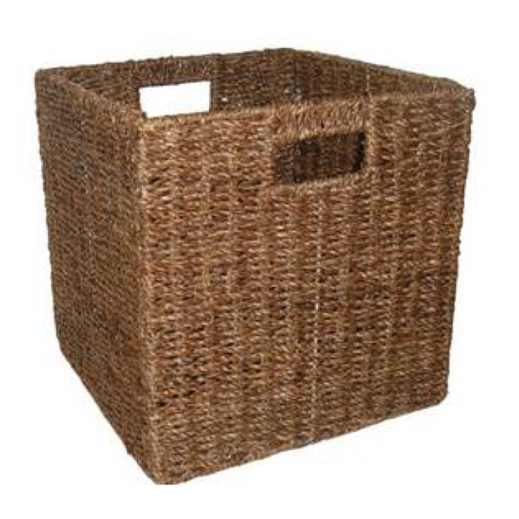 Clever Cube Compact 27 x 27 x 28cm Seagrass Fabric Insert