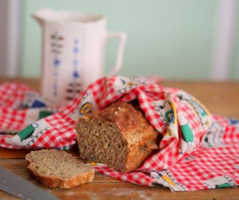 Världens enklaste bröd  |  filmjölkslimpa