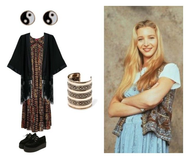 """Phoebe buffay friends outfit"" by loopyluvspugs on Polyvore"
