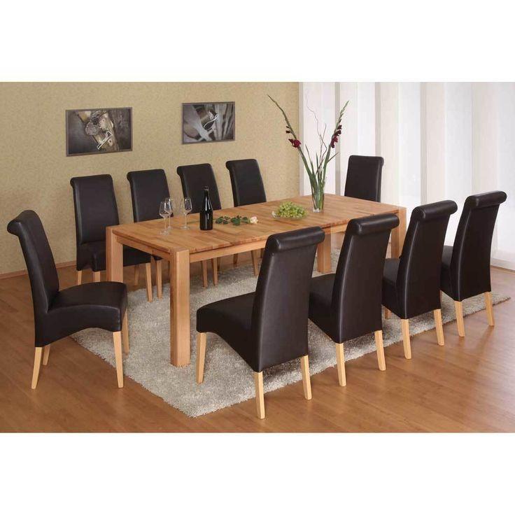 Esszimmergruppe Aus Kernbuche Massivholz 10 Stühle (11 Teilig) Jetzt  Bestellen Unter: Https://moebel.ladendirekt.de/kueche Und Esszimmer/stuehle Und Hocker/  ...