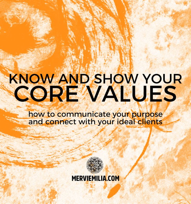 The key to the success of a brand is in knowing and showing what you stand for. Read here why and how to find and communicate your core values and connect with your ideal clients. Branding, online presences, purpose, principles, business, marketing