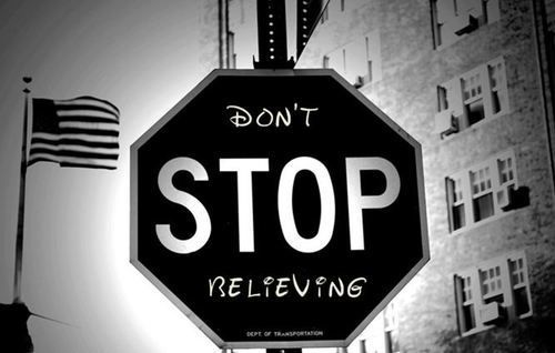 Don't Stop Believing... Disney