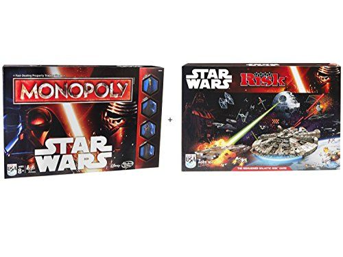 Monopoly Game Star Wars & Risk: Star Wars Edition Game - Bundle @ niftywarehouse.com