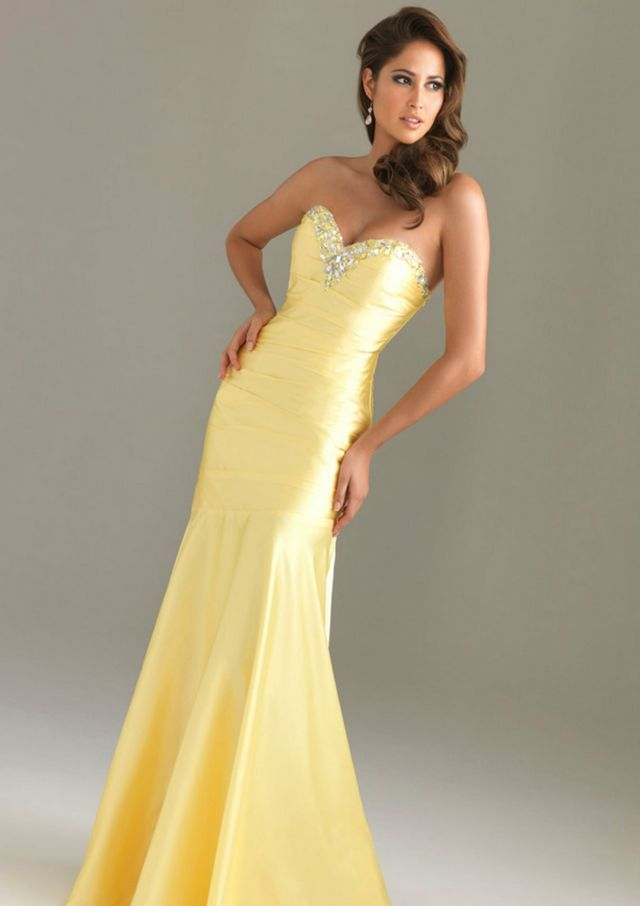 yellow dresses for wedding