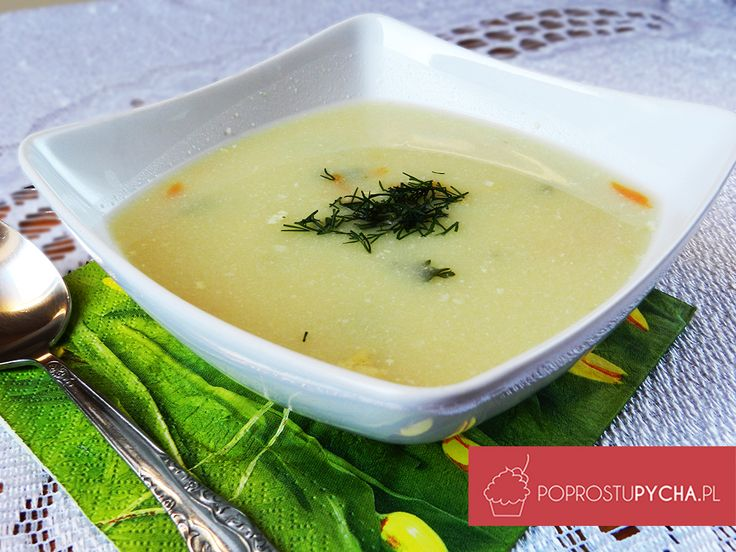 Zupa kalafiorowa! ;) Pyszna, szybka i bardzo rozgrzewająca, pięknie pachnąca zupka :)