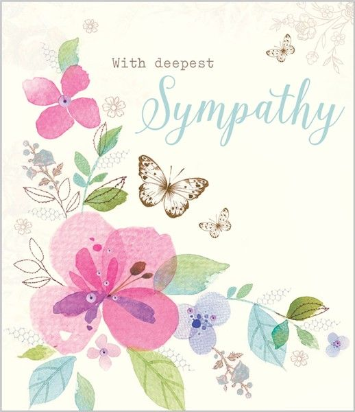 Card Ranges » 7378 » Sympathy Flowers - Abacus Cards - Greetings Cards, Gift Wrap & Stationery