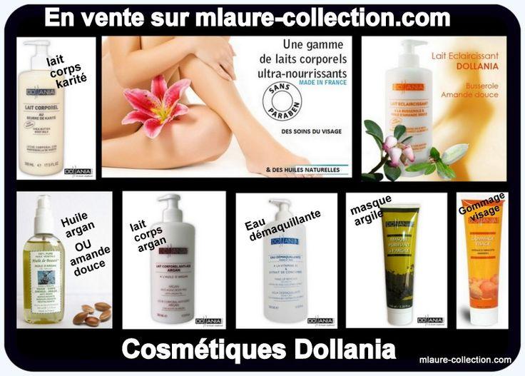 Présentation de la gamme de cosmétiques Dollania